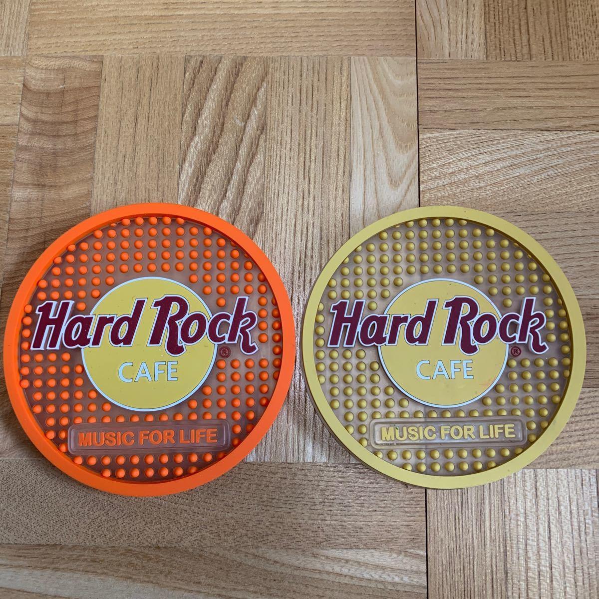 ハードロックカフェ Hard Rock Cafe コースター 2枚