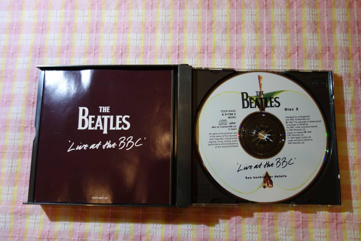 【即決!匿名送料込!】中古・THE BEATLES LIVE AT THE BBC/ザ・ビートルズ・ライヴ!!アット・ザ・BBC!