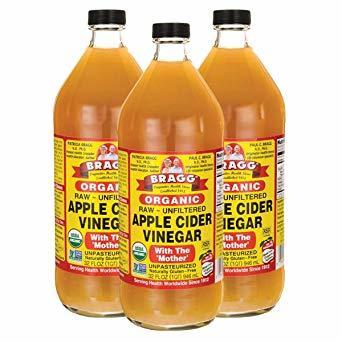 3個 Bragg オーガニック アップルサイダービネガー 【国内発送 正規品】 946ml りんご酢 (3個)_画像1