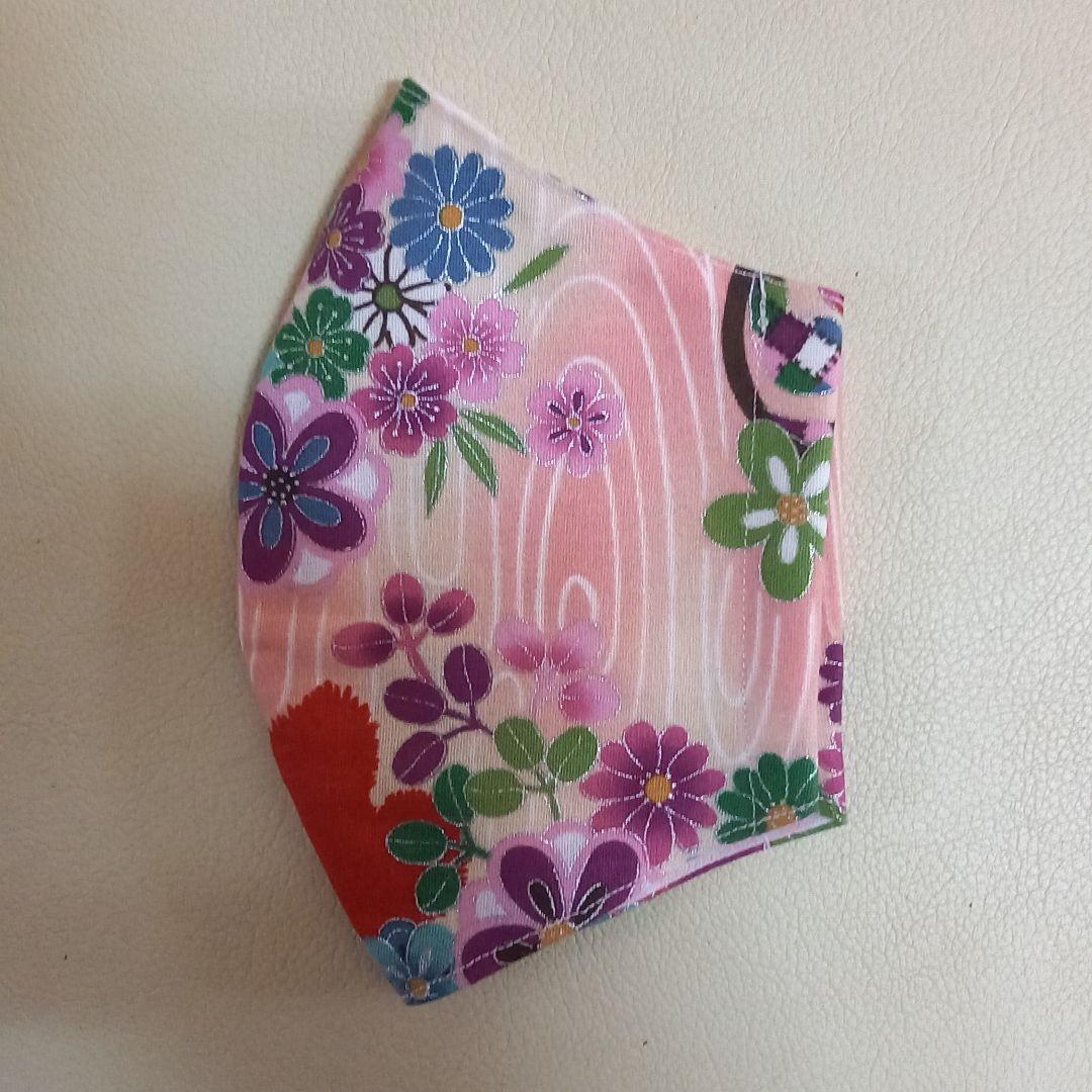 和柄 蝶々 花柄  大人用 立体 インナー