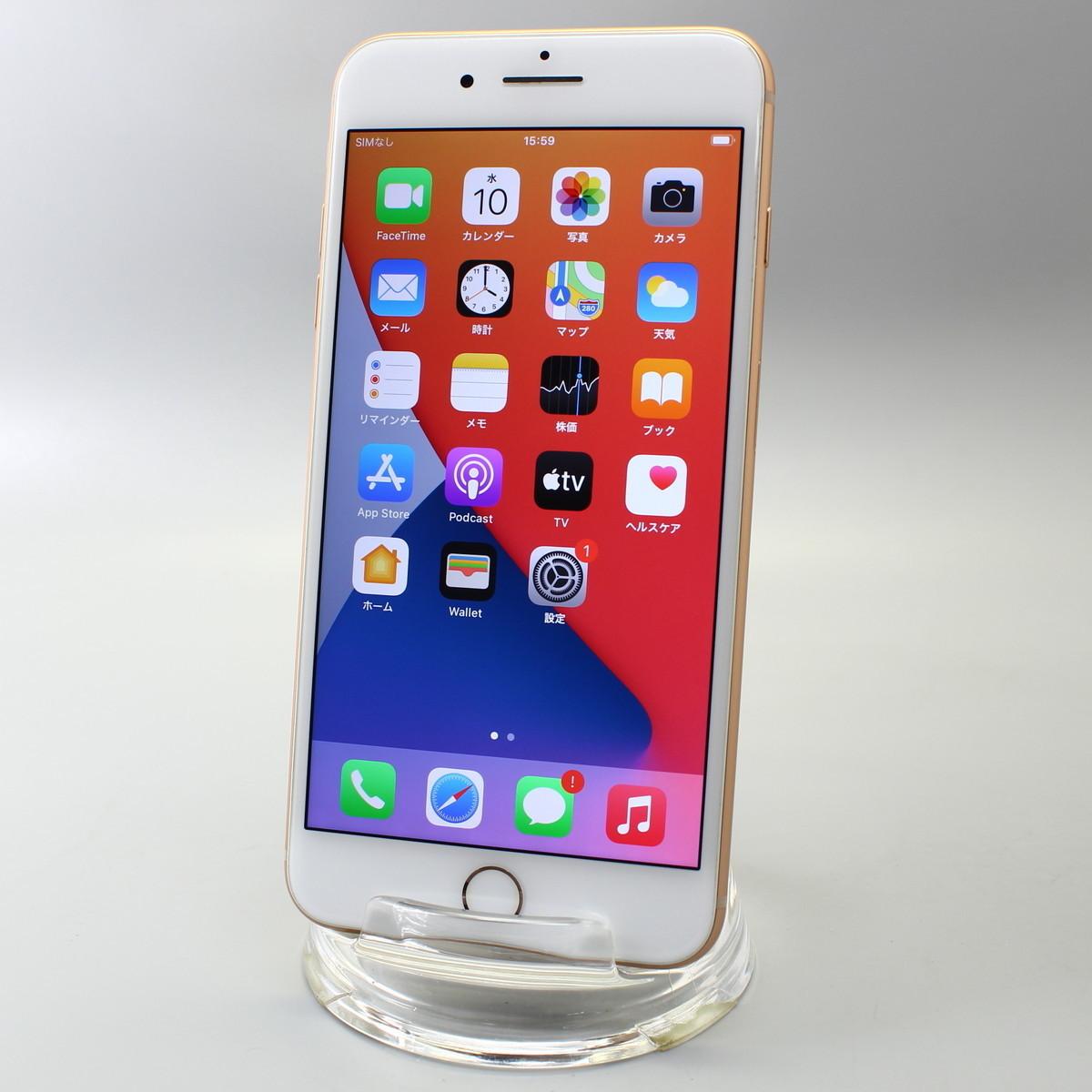 Apple iPhone8 Plus 64GB ゴールド A1898 MQ9M2J/A バッテリ81%■ドコモ★Joshin7899【送