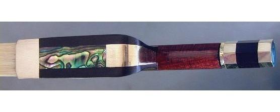 「上級 フレンチ式 コントラバス弓 ベース弓 木調カーボン弓 耐久性抜群 音色良し (エレキベース アクセサリー)」の画像