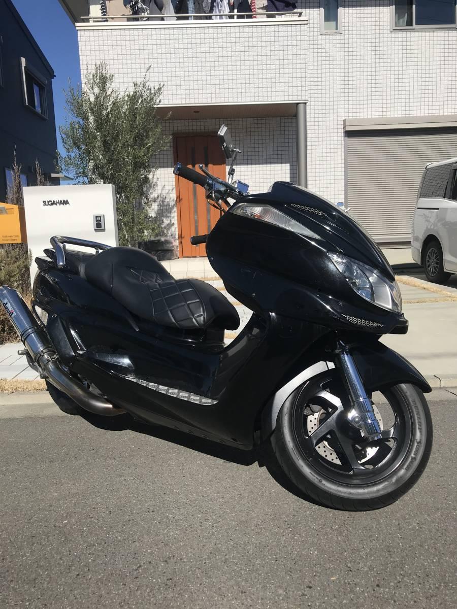 「グランドマジェスティ 250cc G魔 GRAND MAJESTY SG15J カスタム車 デビル管 フルエアロ オーディオ 即乗り可能 マグザム スカイウェイブ」の画像2