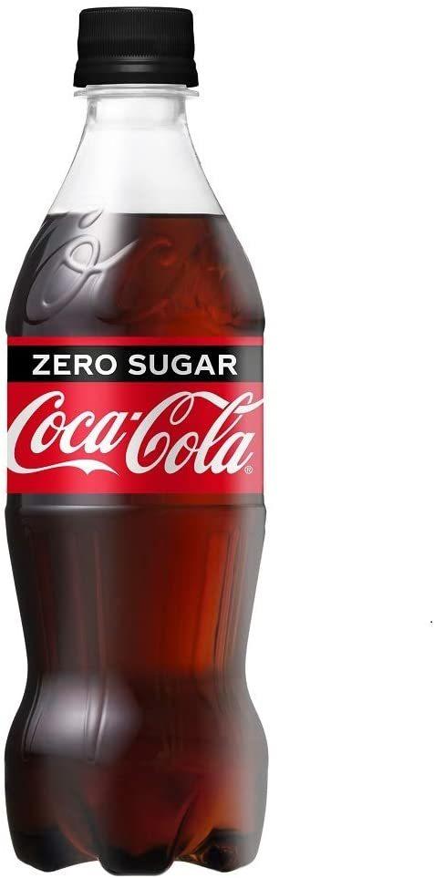 最安【即決・送料無料】コカ・コーラ ゼロ ペットボトル 500ml×24本_画像1