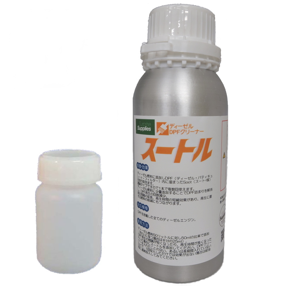 スートル DPFクリーナー 濃縮タイプ・ディーゼル燃料添加剤  500ml缶 B_画像1
