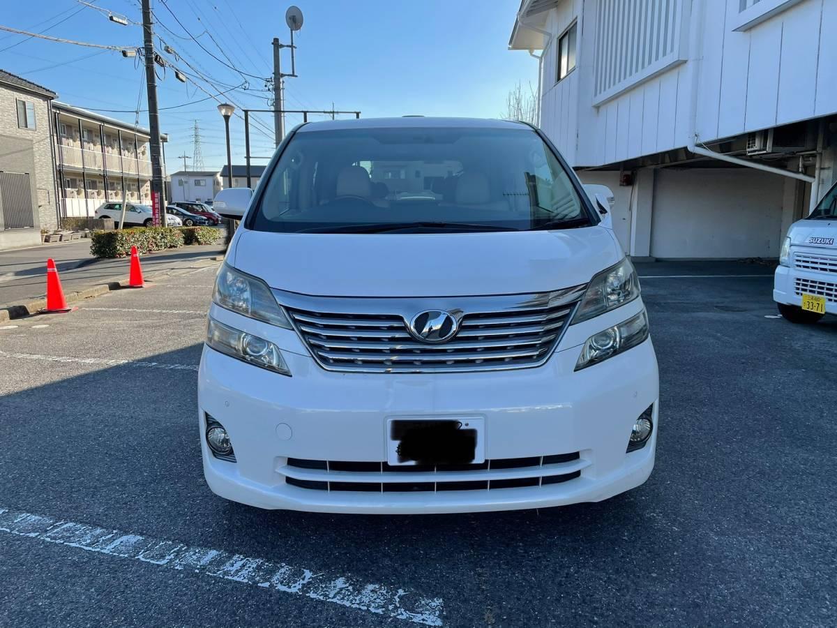 「トヨタ ヴェルファイア 本革シート 送迎車 綺麗です」の画像1