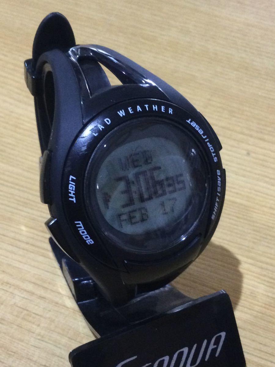 ラドウェザー LAD WEATHER デジタル腕時計 スポーツウォッチ_画像2