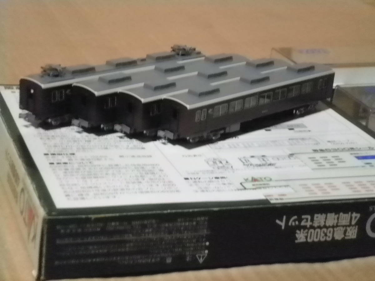 KATO製 阪急6300系 4両増結セット 中古品_画像4