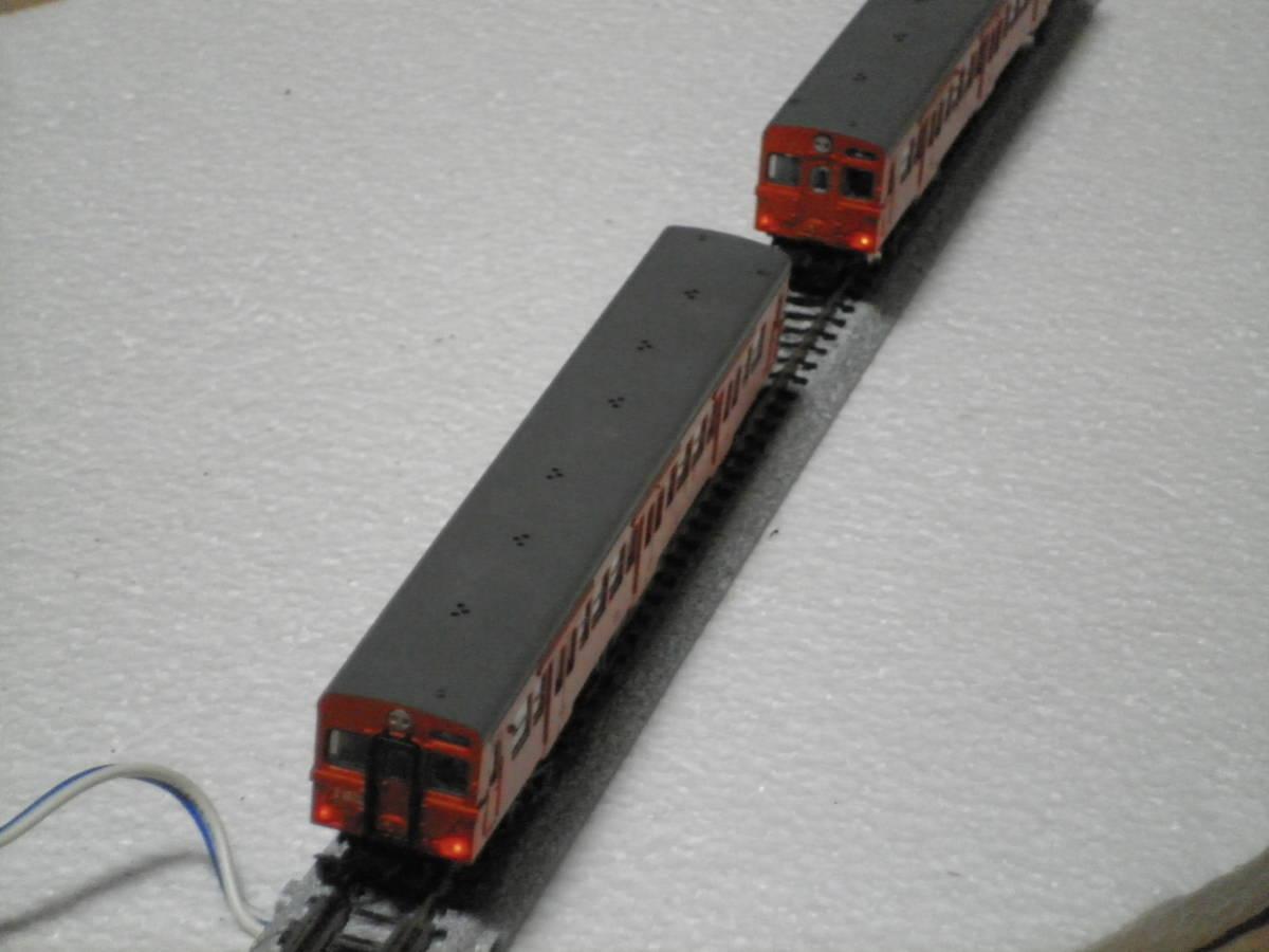 MODEMO  通勤形気動車 キハ30(首都圏色)補強板付 2両セット 中古品_画像8