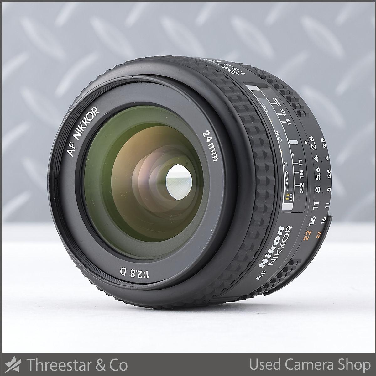 1円~ NIKON AF 24mm F2.8D