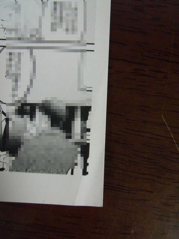 アニメイト特典◆みづい甘『極道のこじらせ片想い』4Pリーフレット&協力書店ぺーパーのみ ※折れあり_画像8
