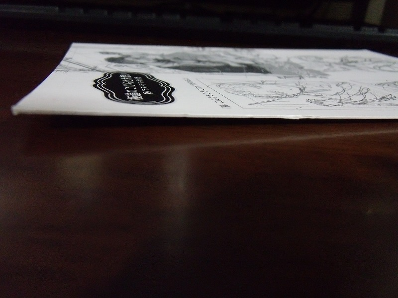 アニメイト特典◆みづい甘『極道のこじらせ片想い』4Pリーフレット&協力書店ぺーパーのみ ※折れあり_画像5