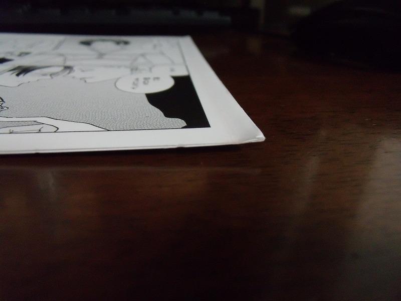 アニメイト特典◆ニクヤ乾『蜘蛛と性』4Pリーフレットのみ ※折れあり_画像2