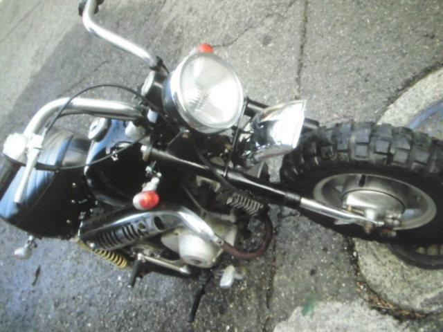 「ホンダ モンキーZ50J レストア途中 ジャンク出品」の画像1