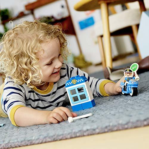 PIレゴ(LEGO) デュプロE4-OYポリスとバイク 10900 知育玩具 ブロック おもちゃ 男の子_画像7