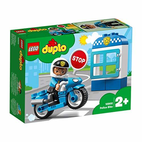 PIレゴ(LEGO) デュプロE4-OYポリスとバイク 10900 知育玩具 ブロック おもちゃ 男の子_画像8