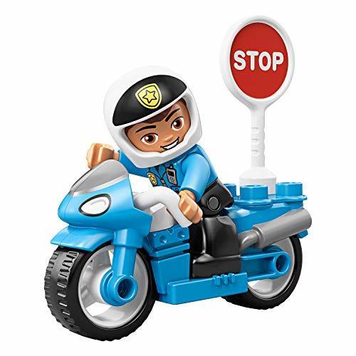 PIレゴ(LEGO) デュプロE4-OYポリスとバイク 10900 知育玩具 ブロック おもちゃ 男の子_画像5