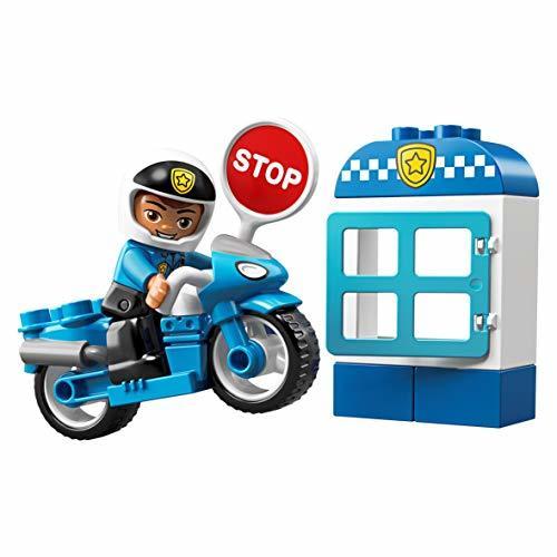PIレゴ(LEGO) デュプロE4-OYポリスとバイク 10900 知育玩具 ブロック おもちゃ 男の子_画像4