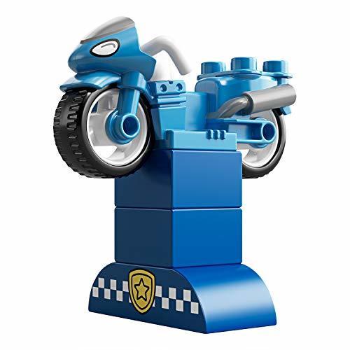 PIレゴ(LEGO) デュプロE4-OYポリスとバイク 10900 知育玩具 ブロック おもちゃ 男の子_画像6