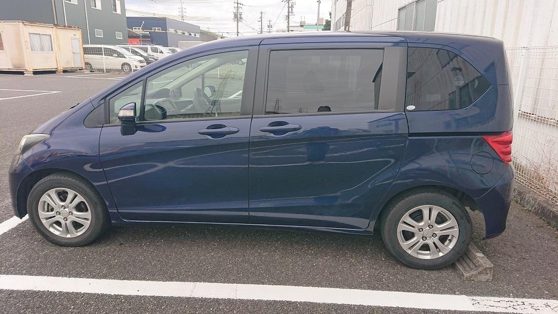 「ホンダフリード 7人乗り 車検令和4年1月 1円スタート 売り切ります。」の画像2