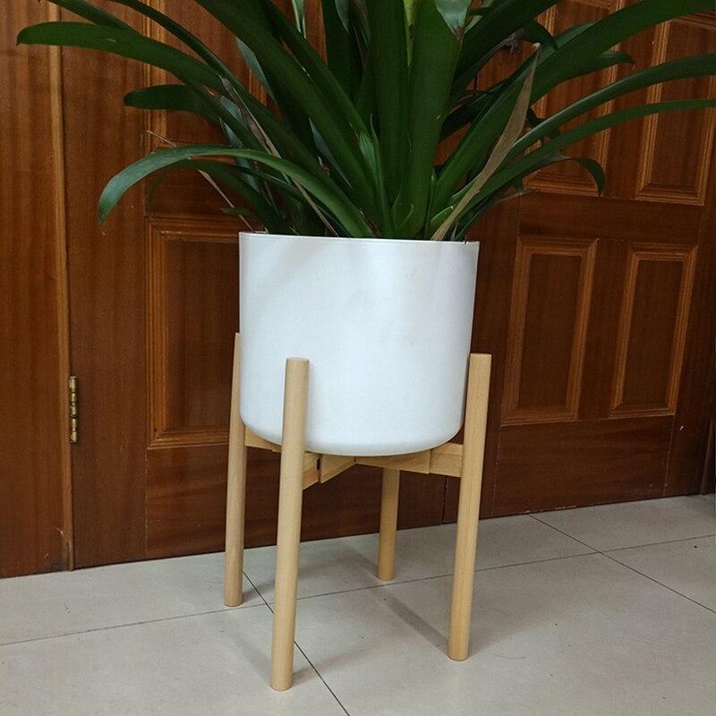 ◆最安にします◆植物スタンド おしゃれ ホルダー 植木鉢 スタンド 観葉植物 ラック 調整可能 木製 インテリア 植物 ギフト AT9371_画像1