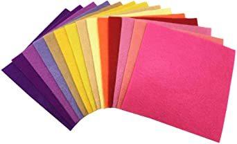 44枚 30cm x 20cm 28枚 柔らかいタイプ 羊毛フェルト クラフト DIY手芸用 不織布 選べるサイズ1_画像3