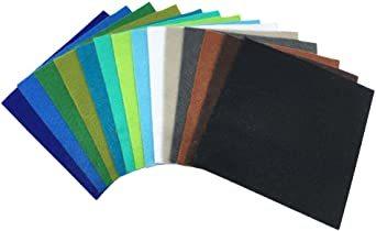 44枚 30cm x 20cm 28枚 柔らかいタイプ 羊毛フェルト クラフト DIY手芸用 不織布 選べるサイズ1_画像6