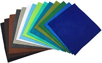 44枚 30cm x 20cm 28枚 柔らかいタイプ 羊毛フェルト クラフト DIY手芸用 不織布 選べるサイズ1_画像4
