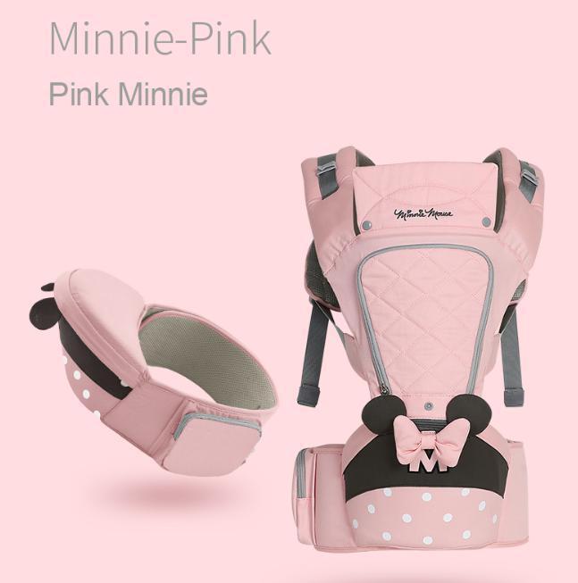 ☆最安値 ディズニー ベイビーキャリア Disney 並行輸入品 赤ちゃん 抱っこひも おんぶひも ミニーマウス_画像2