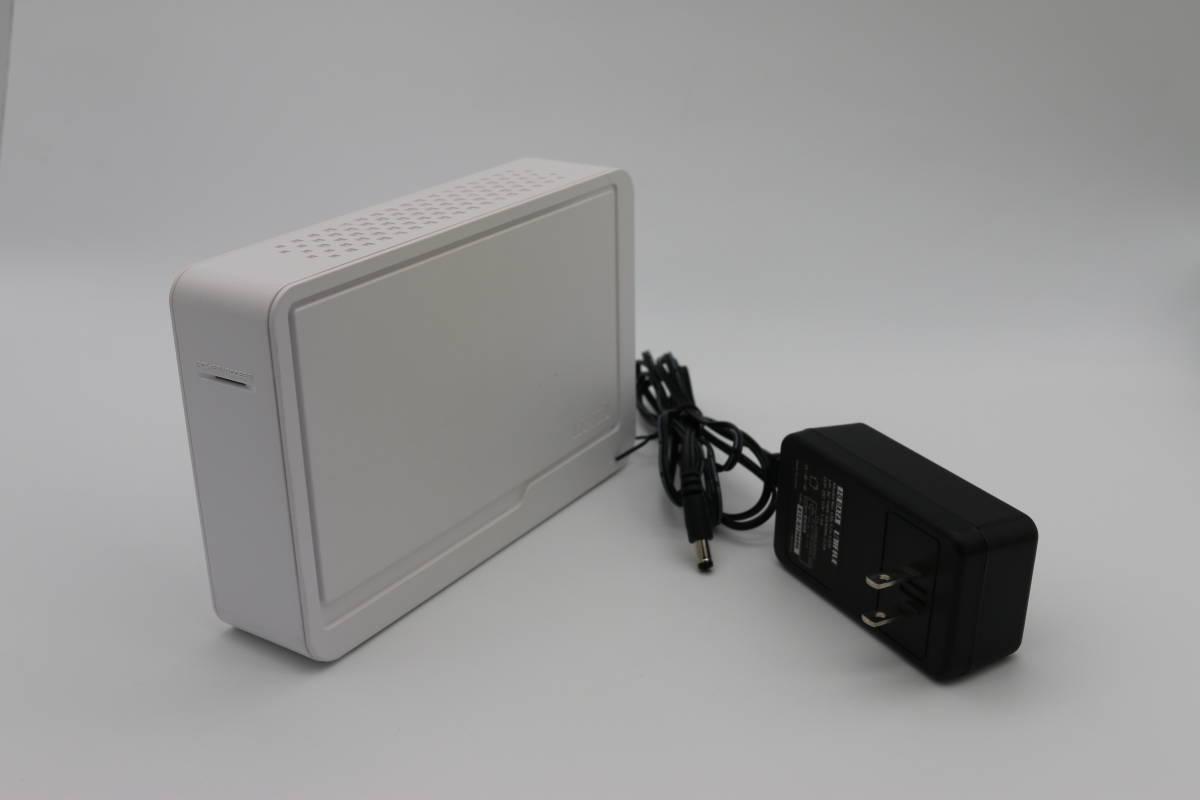 IOデータ I-O DATA HDCS-U500 500GB  USB2.0対応 外付け型ハードディスク ドライブ健康状態正常_画像1