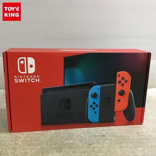 1円~ 動作確認済 初期化済 Nintendo Switch 本体 HAC-001(-01) ネオンブルー/ネオンレッド