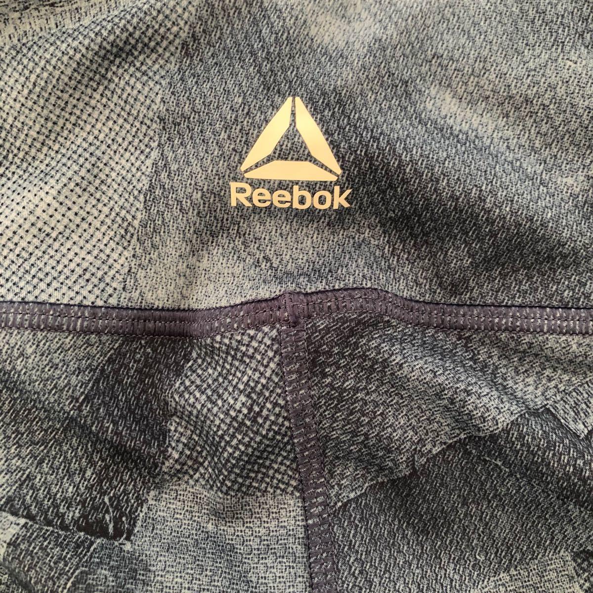 Reebok リーボック   トレーニングウェア  レギンス タイツ Sサイズ レディース  ジム トレーニング ブルー