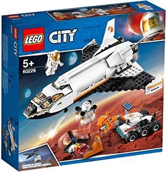レゴ(LEGO) シティ 超高速! 火星探査シャトル 60226 ブロック おもちゃ 男の子_画像9