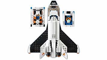 レゴ(LEGO) シティ 超高速! 火星探査シャトル 60226 ブロック おもちゃ 男の子_画像6