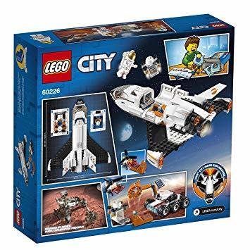 レゴ(LEGO) シティ 超高速! 火星探査シャトル 60226 ブロック おもちゃ 男の子_画像8