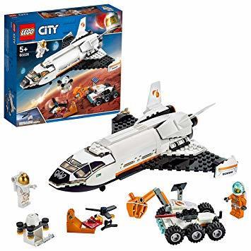 レゴ(LEGO) シティ 超高速! 火星探査シャトル 60226 ブロック おもちゃ 男の子_画像1