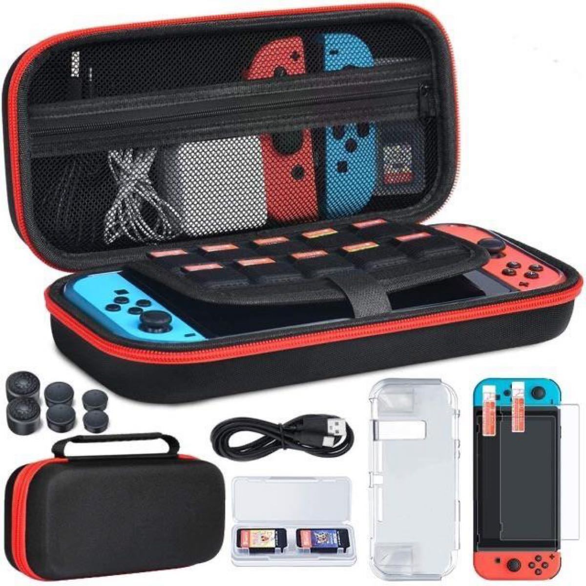 Nintendo Switch 任天堂スイッチケース 収納バッグ 任天堂スイッチ