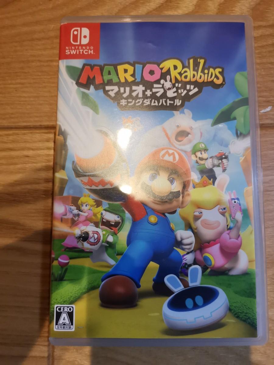 Nintendo Switch マリオ+ラビッツ キングダムバトル
