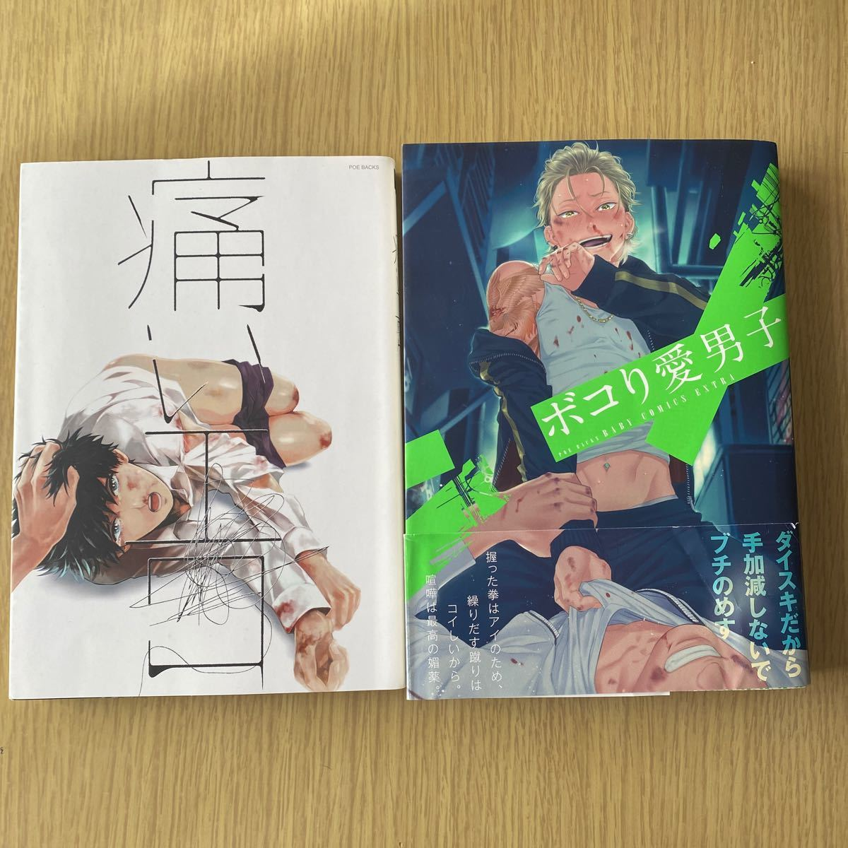 BLコミック  アンソロジー  2冊