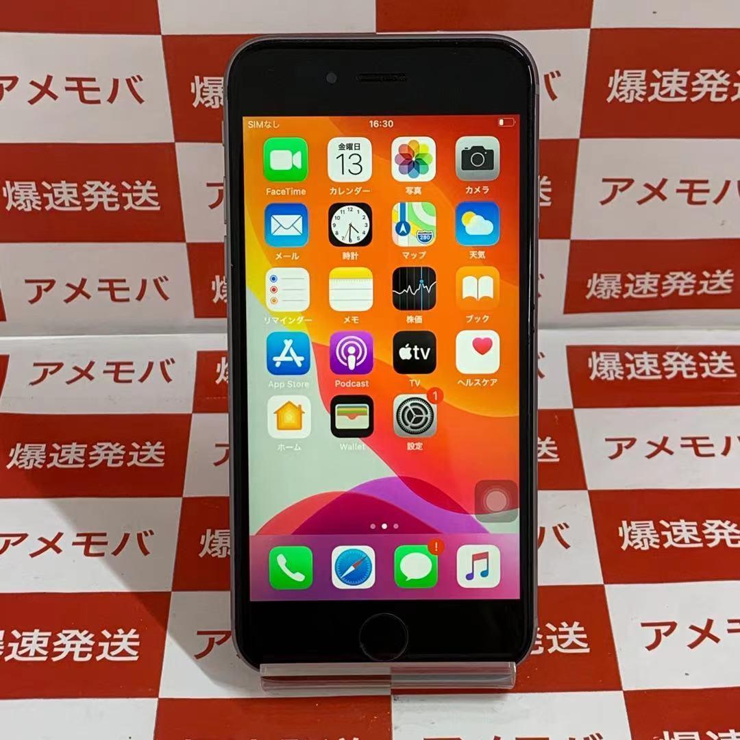 爆速発送 iPhone6s 64GB Apple版SIMフリー ジャンク品 バッテリー100% スペースグレイ MKQN2VC/A A1688