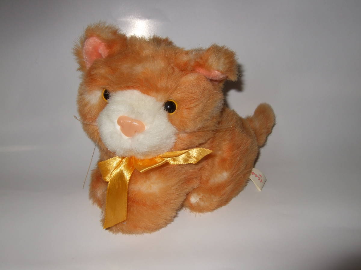 cat soft toy pliti cat tiger cat .. cat soft toy