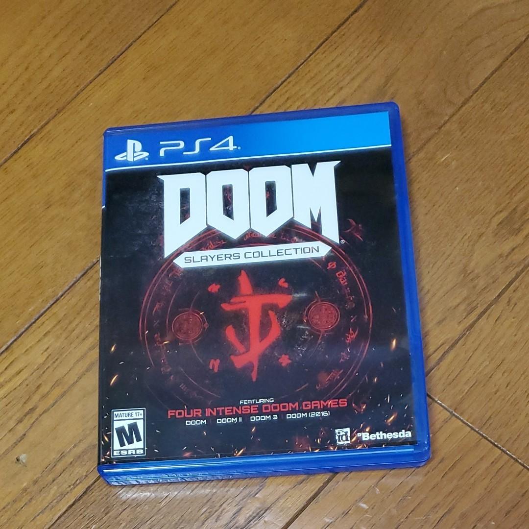 PS4 北米版 DOOM