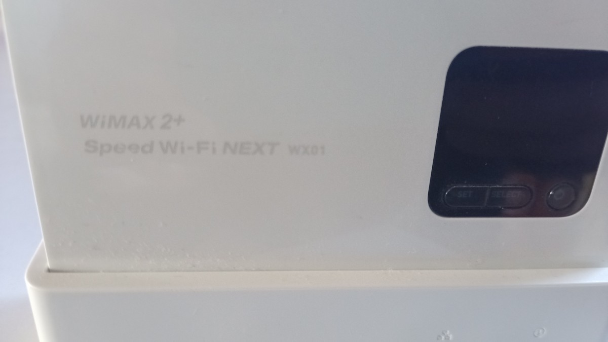 ★Speed Wi-Fi NEXT WX01 WiMAX