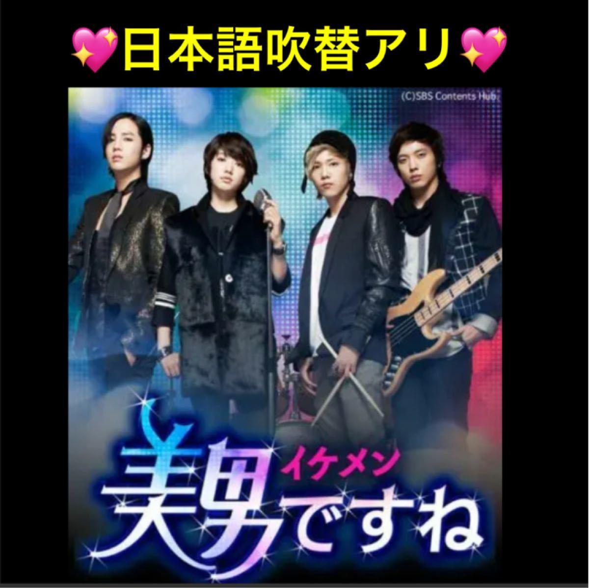 ※お値下げしました※ ★韓国ドラマ★『美男イケメンですね』日本語吹替付 DVD 全話