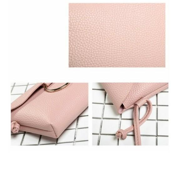 ミニバッグ ショルダーバッグ ピンク コンパクトバッグ プチプラ 2WEY