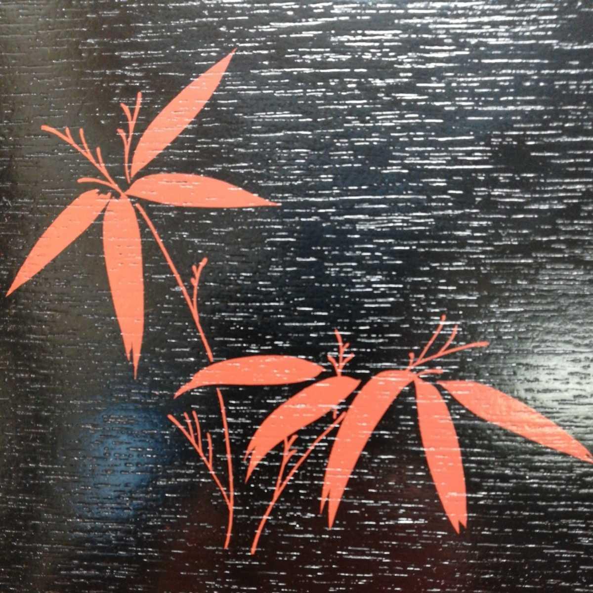 木製 漆器 お盆 煎茶道具 _画像4