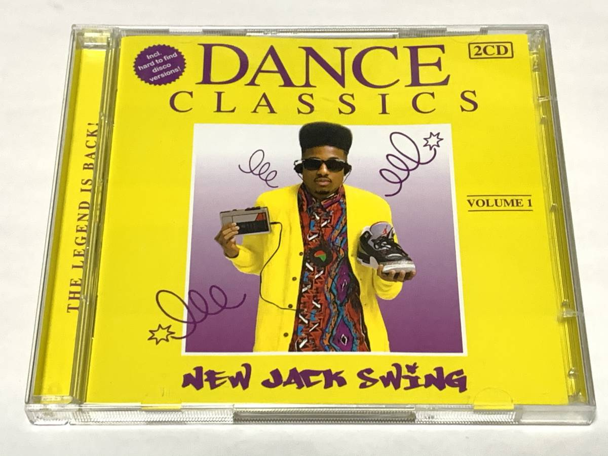 CD Dance Classics New Jack Swing Vol.1