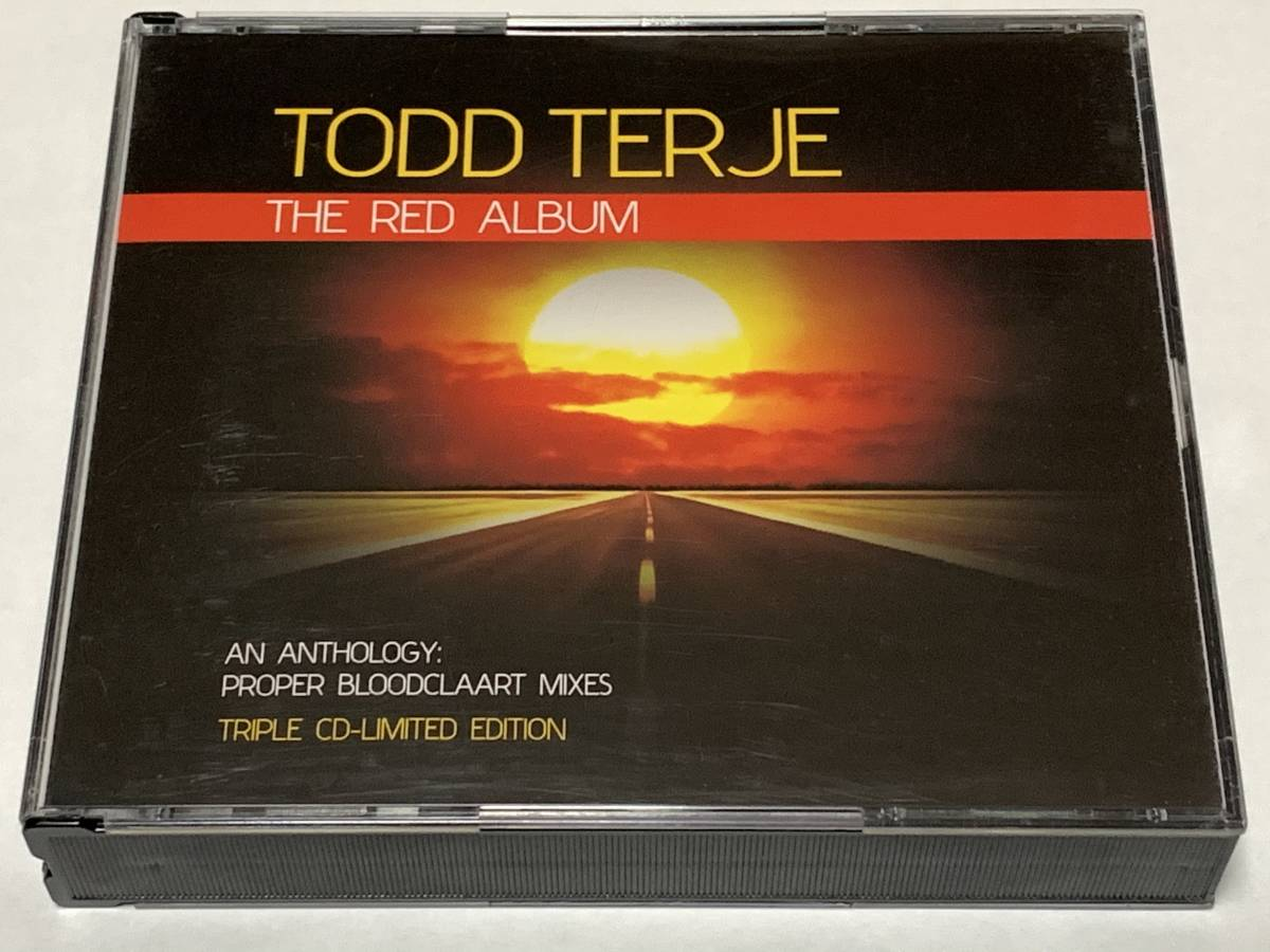 CD 3CD TODD TERJE / The Red Album トッド・テリエ