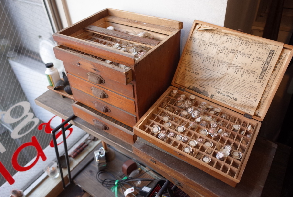 ○アンティーク腕時計&懐中時計 風防 大量セット  古道具のgplus広島 2102k_画像1
