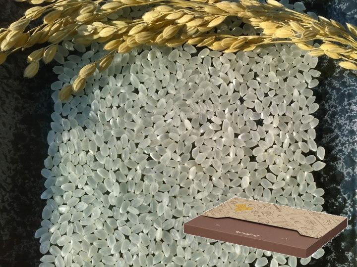 南魚沼産コシヒカリ乾式無洗米1kg(ネコポス便)令和2年産_画像2